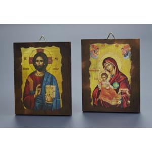 Μπομπονιέρες Γάμου Βάπτισης Εικόνες ΑΡ1 Nuova Vita Στον κωδικό αυτό μπορεί να γίνει αλλαγή Αγίου, κατόπιν παραγγελίας
