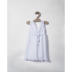 Ολοκληρωμένο πακέτο βάπτισηs με αυτό το φόρεμα (angels wings Κωδ.226/01-55) Με βαλίτσα rain η παγκάκι θρανίο προσφορά!!!!!!