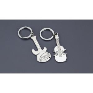 Μπρελόκ μεταλλικό κιθάρα βιολί  (Nuova Vita) (Κωδ.NU1368)