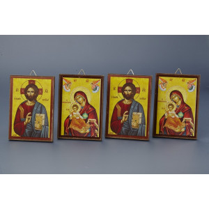 Μπομπονιέρες Γάμου Βάπτισης Εικόνες  NU1719 Nuova Vita Στον κωδικό αυτό μπορεί να γίνει αλλαγή Αγίου, κατόπιν παραγγελίας