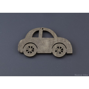 Ξύλινο Αμαξάκι (Nuova Vita) (Κωδ.NU1624C)