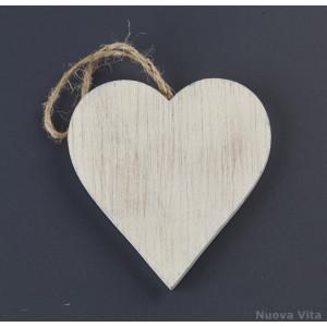 Κρεμαστή Καρδιά Ξύλινή (Nuova Vita) (Κωδ.ZL16C1097)