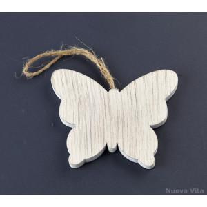 Κρεμαστή Πεταλούδα Ξύλινή (Nuova Vita) (Κωδ.ZL16C1095)