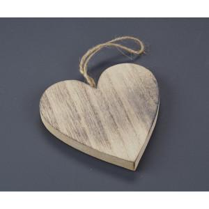 Μπουμπουνιέρα καρδιά ξύλινη (Nuova Vita) (Κωδ.ZL15C632E)
