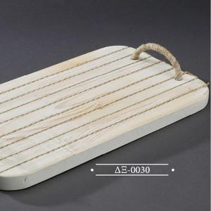 Δίσκος από ξύλο σε λευκή απόχρωση  (Authentique art Κωδ.ΔΞ-0030) προσφορά
