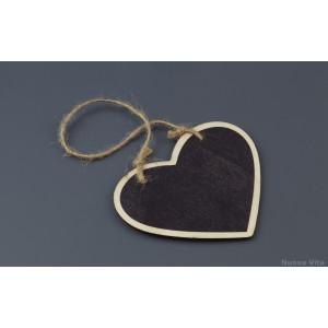 Κρεμαστός Μαυροπίνακας σε σχήμα Καρδιά. (Nuova Vita) (Κωδ.ΝΚ003)