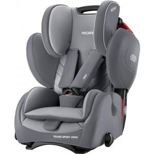 Παιδικό κάθισμα αυτοκινήτου Recaro Young Sport Hero Aluminium Grey.narlis
