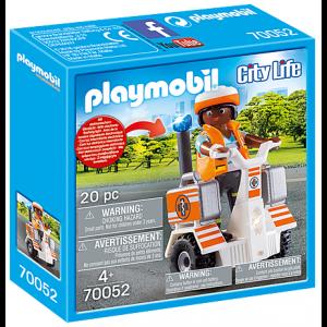 Playmobil Διασώστρια Με Self-balance (70052)