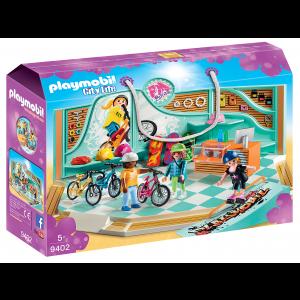 Playmobil Κατάστημα Ποδηλάτων & Skate (9402)