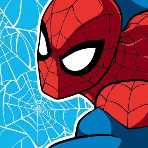 Πετσετάκι - Λαβέτα Spiderman Marvel (Κωδ.621.01.019)