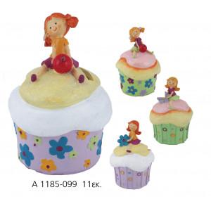 Κουμπαράς Cupcakes Κοριτσάκι (Α1185) Προσφορά