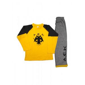 Πυζάμα AEK Παιδική ABC632 200.068.003
