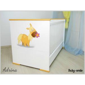 Κρεβάτι Baby Smile Abrina Με Ζωγραφιά (Ρωτήστε για την προσφορά) (00289)