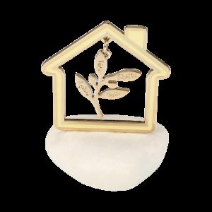 Μπομπονιέρα Γάμου Σπίτι με Κλαδί Ευχών σε Βότσαλο 82105-185 Andronidis Ζητήστε προσφορά !!!!