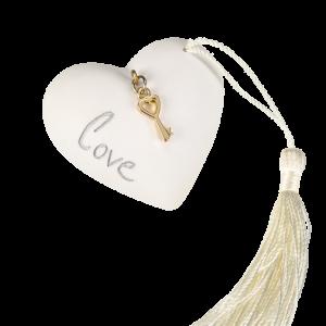 Μπομπονιέρα Γάμου Καρδιά με Κλειδάκι Pres Papie 82018A-146 Andronidis Ζητήστε προσφορά !!!!