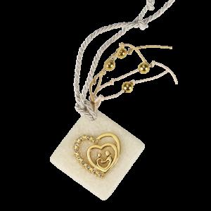 Μπομπονιέρα Γάμου Διπλή Καρδιά σε Πέτρα  82013-130 Andronidis Ζητήστε προσφορά !!!!