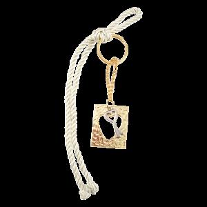 Μπομπονιέρα Γάμου Μπρελόκ Καρδιά με Κλειδί Κρεμαστό 82012-120 Andronidis Ζητήστε προσφορά !!!!