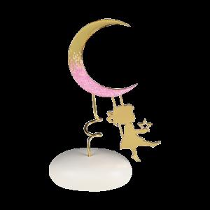 Μπομπονιέρα Βάπτισης Κορίτσι με Φεγγάρι σε Βότσαλο  8948Β-220 Andronidis Ζητήστε προσφορά !!!!