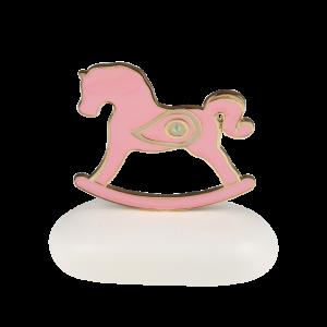 """Μπομπονιέρα Βάπτισης Αλογάκι """"Rocking Horse"""" με Ματάκι  8943Β-190  Andronidis Ζητήστε προσφορά !!!!"""
