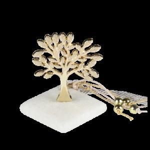 Μπομπονιέρα Γάμου-Βάπτισης Δέντρο Σφυρήλατο σε Πέτρα 8901-190 Ζητήστε προσφορά !!!!