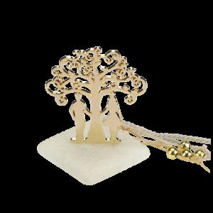 Μπομπονιέρα Γάμου Δέντρο Αγάπης Ζευγάρι σε Πέτρα 8904-195 Andronidis Ζητήστε προσφορά !!!!