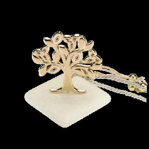 Μπομπονιέρα Γάμου-Βάπτισης Δέντρο με Ματάκια σε Πέτρα 8902-195 Andronidis Ζητήστε προσφορά !!!!