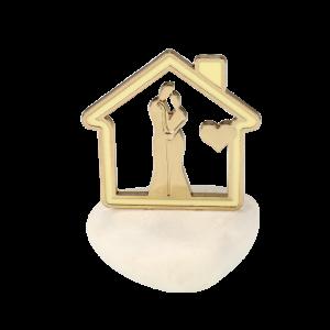 Μπομπονιέρα Βάπτισης Σπίτι Αγάπης σε Βότσαλο 82106-160 Andronidis Ζητήστε προσφορά !!!!