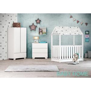 Casababy Set Κρεβάτι & Συρταριέρα (Baby Home). Ζητήστε προσφορά