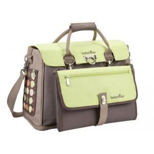 Τσάντα babymoov hand nappy bag Taupe/Amande (Κωδ.035.102.018)