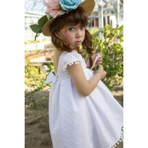 Ολοκληρωμένο πακέτο βάπτισηs με αυτό το φόρεμα Bambolino Ekavi (#8769-125-285#) Με βαλίτσα rain η παγκάκι θρανίο Ζητήστε προσφορά !!