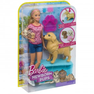 Barbie και Κουταβάκια FDD43 Κωδ. 390.342.177