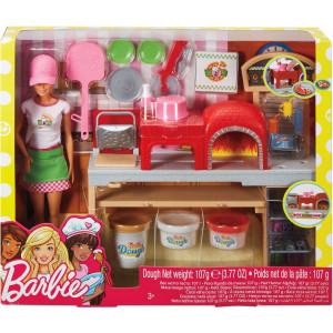 Barbie Σεφ Εργαστήριο Πίτσας FHR09 Κωδ. 390.342.161