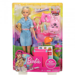 Barbie Έτοιμη για Ταξίδι FWV25 Κωδ. 390.342.224