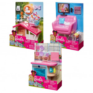 Barbie Έπιπλα Εσωτερικού Χώρου FXG33 Κωδ. 390.342.124