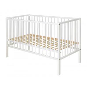 Βρεφικό Κρεβάτι Cangaroo Milky Way White 60×120