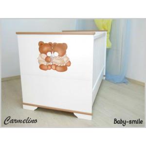 Κρεβάτι Baby Smile Carmelino Με Ζωγραφιά (Ρωτήστε για την προσφορά) (00289)