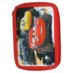 Κασετίνα Διπλή Γεμάτη Cars (341-44100)