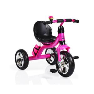 Moni Byox Τρίκυκλο Ποδηλατάκι Cavalier, Pink 3800146241926, narlis.gr