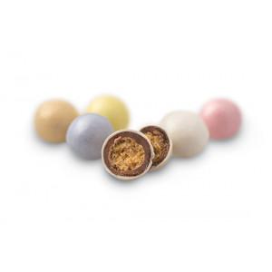 Κουφέτα Choco Balls Fantazy περλέ  χρωματιστά με σοκολάτα και δημητριακά (Καραμάνης 8011)