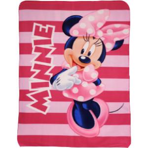 Κουβέρτα Φλις Minnie Disney (Διαστάσεις 1.00cm x 1.40cm) (Κωδ.200.01.049)