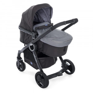Chicco Urban Plus Anthracite New.με επιπλέον δώρο ύφασμα red wave