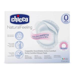 Chicco Επιθέματα Στήθους Αντιβακτηριακά,30τμχ (8003670845843)
