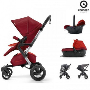 Concord 3 Σε 1 Neo Travel Set Flaming Red.Ρωτήστε για την τιμή (00899)