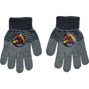 Γάντια Πλεκτά Spiderman Disney (Γκρι Ανοιχτό) (Κωδ.200.90.016)