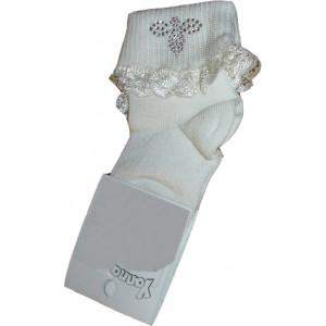 Κάλτσες (Βαπτιστικές) (Εκρού) (Κωδ.115.64.197)