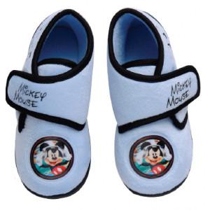 Παπουτσάκι (Παντοφλάκι) Mickey Disney (Σιελ) (Κωδ.200.149.068)
