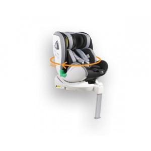 Cangaroo Κάθισμα Αυτοκινήτου Commodore Isofix 360° Dark Grey 3801005150281