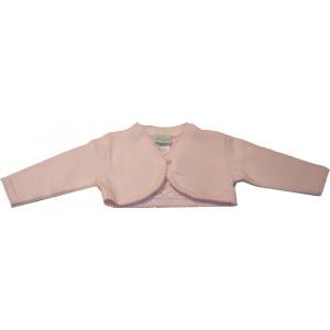 Μπολερό Πλεκτό (Ροζ) (Κωδ.516.052.000)