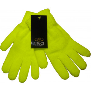 Γάντια Πλεκτά Μονόχρωμα (Κίτρινο) (Κωδ.214.504.011)