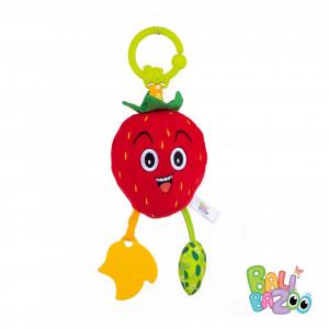 Balibazoo Κρεμαστό Παιχνίδι Strawberry Bell (80235)